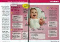 Comment calmer un enfant avec EFT article paru dans le Magazine Parents aout-sept 2016