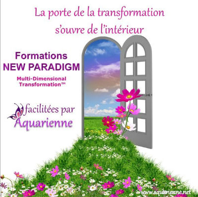 La porte de la transformation s`ouvre de l`int�rieur : Formations New Paradigm MDT