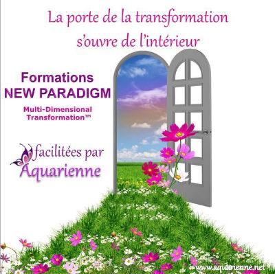 La porte de la transformation s`ouvre de l`intérieur : Formations New Paradigm MDT