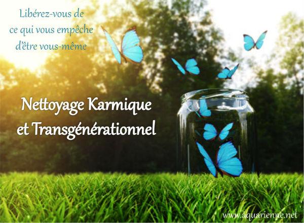 Nettoyage karmique et transgénérationnel - Se libérer du karma