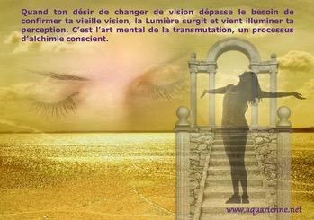 Message des Potes-en-Ciel sur le processus de transmutation intérieure